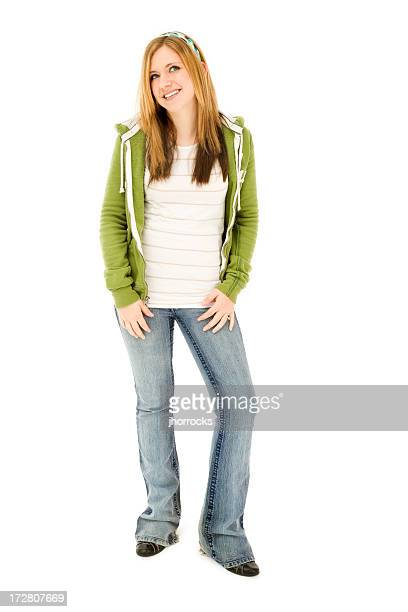 Confident Casual Teen