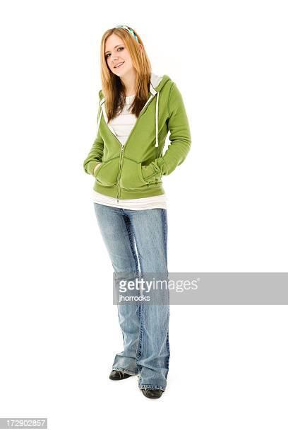 Confident Casual Teen