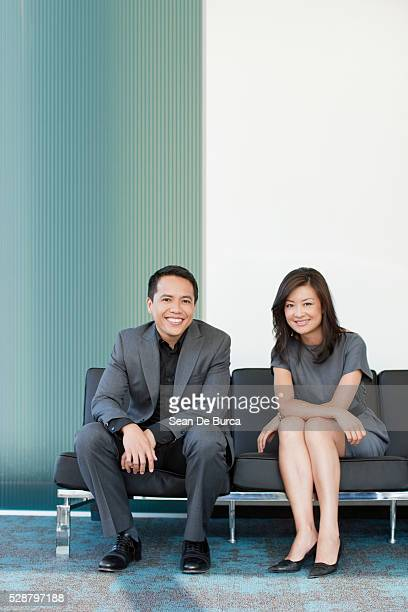 confident co-workers - south east asian ethnicity stock pictures, royalty-free photos & images