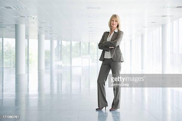 Entrepreneur confiant femme