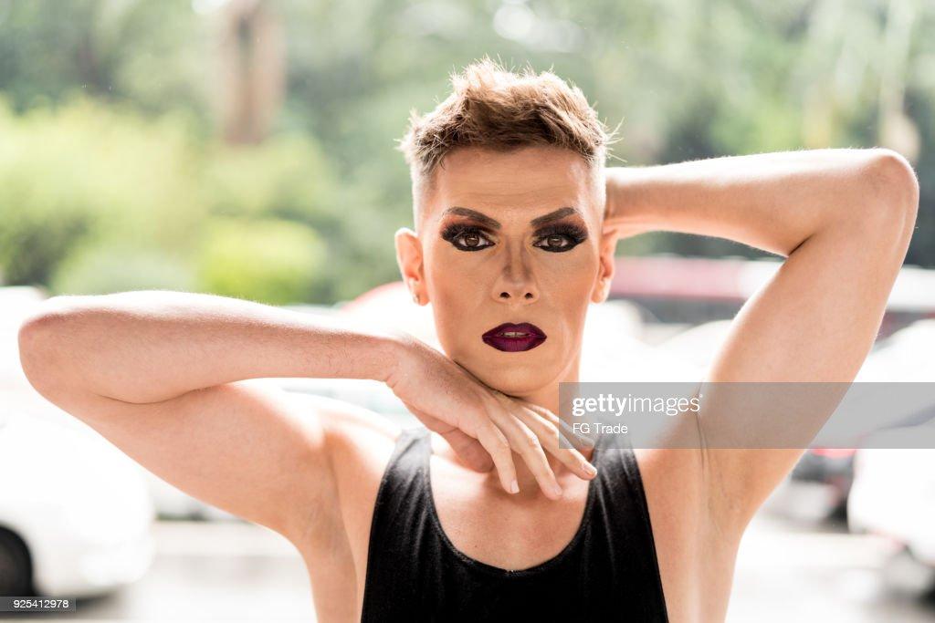 Confident Gay Boy : Stock Photo