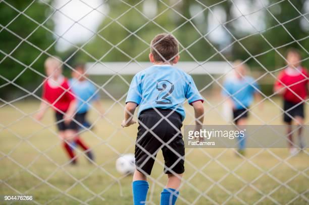 zuversichtlich, torwart - sportliga stock-fotos und bilder