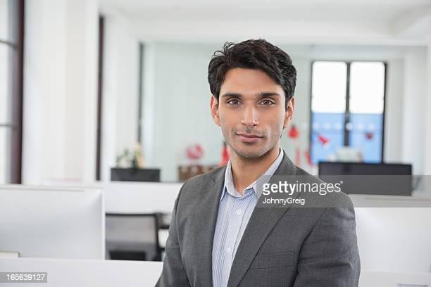 Confident Male Business Executive