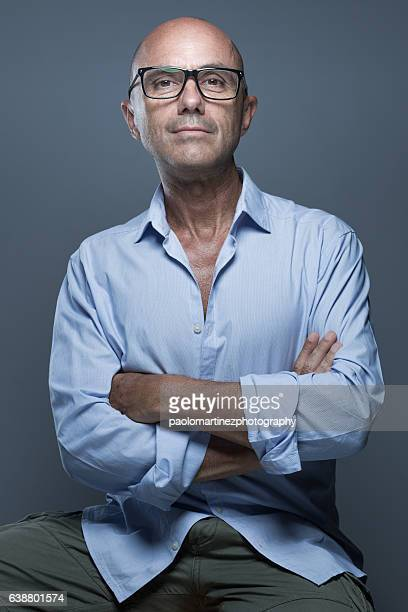 Confident man with arms crossed