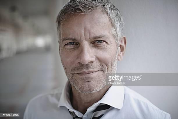 Confident mature businessman, portrait