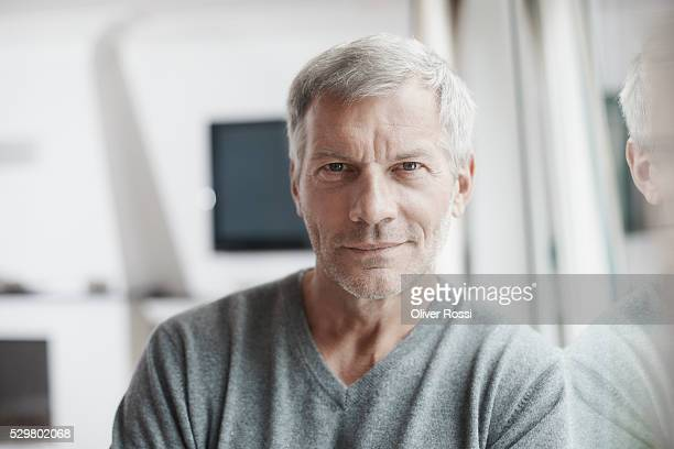 Confident mature man, portrait