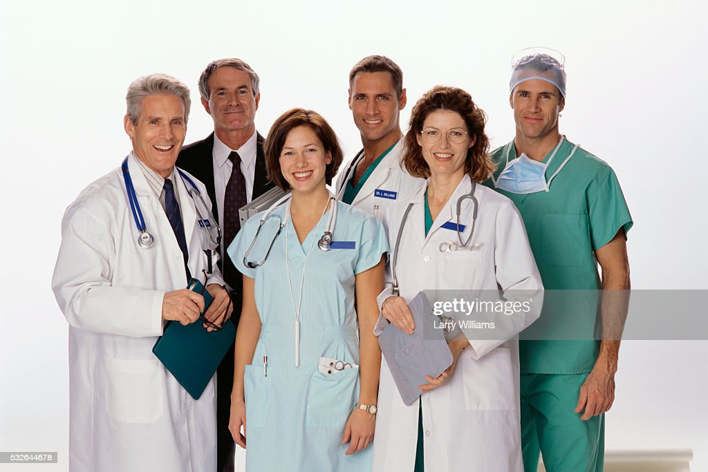 confident physicians ストックフォト getty images