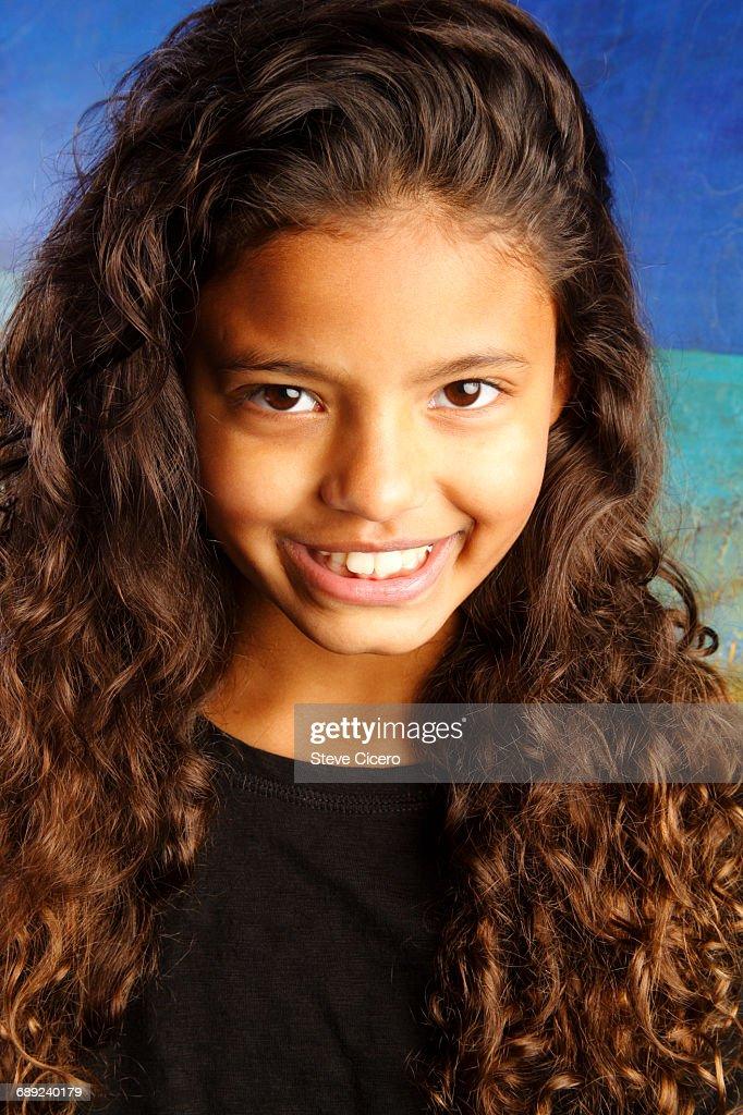 confident smiling child : Foto de stock