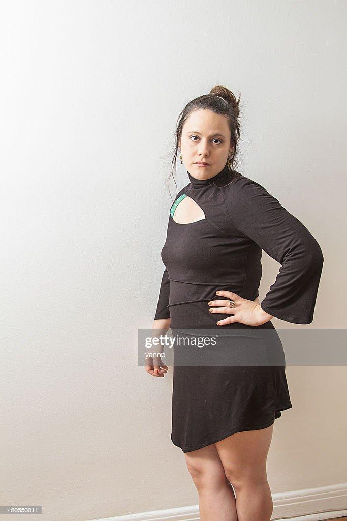 Confiante Mulher : Foto de stock