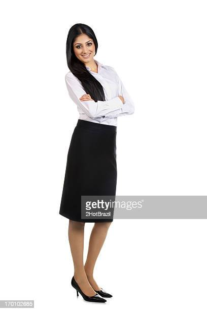 confident woman portrait in white - formal stock pictures, royalty-free photos & images