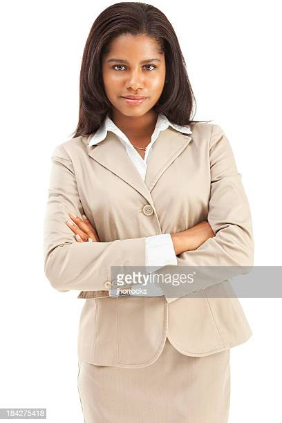 Confident Young African American Businesswoman