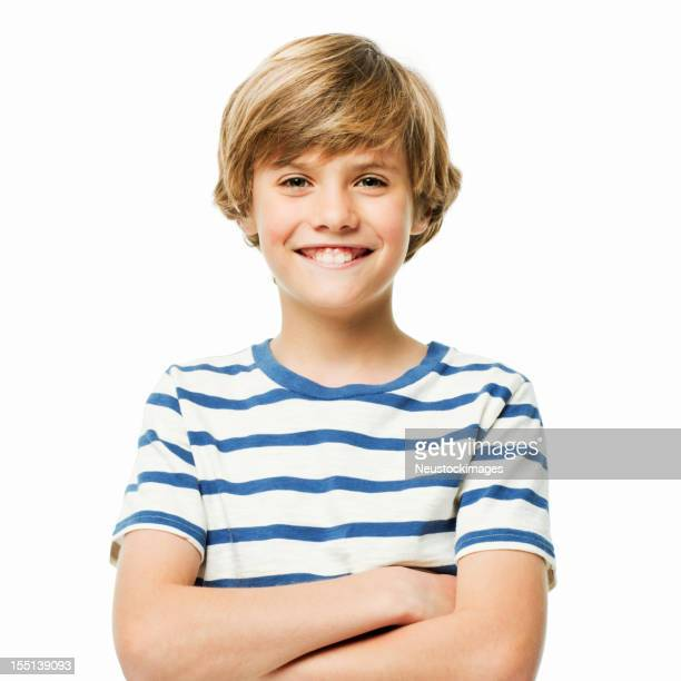 Confident Young Boy - Isolated