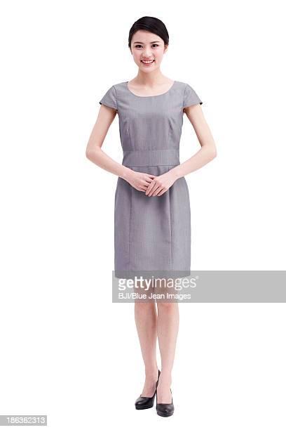 confident young businesswoman - よそいきの服 ストックフォトと画像