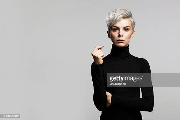 confident young enterpreneur - turtleneck stock pictures, royalty-free photos & images