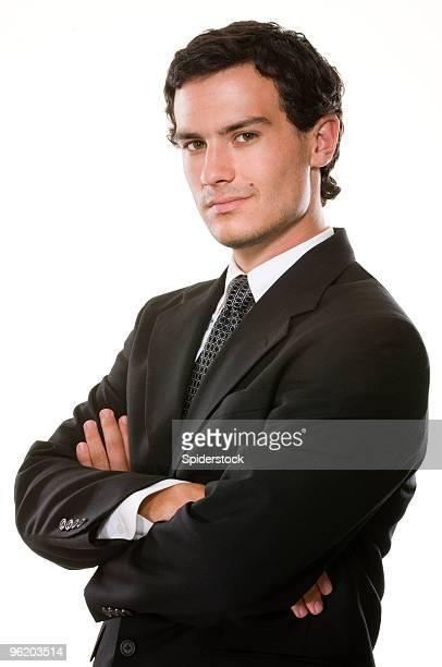 Confident Young Executive