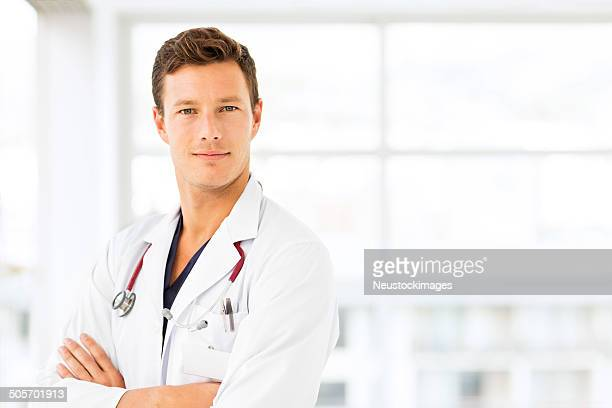 Confident Young Male Doctor