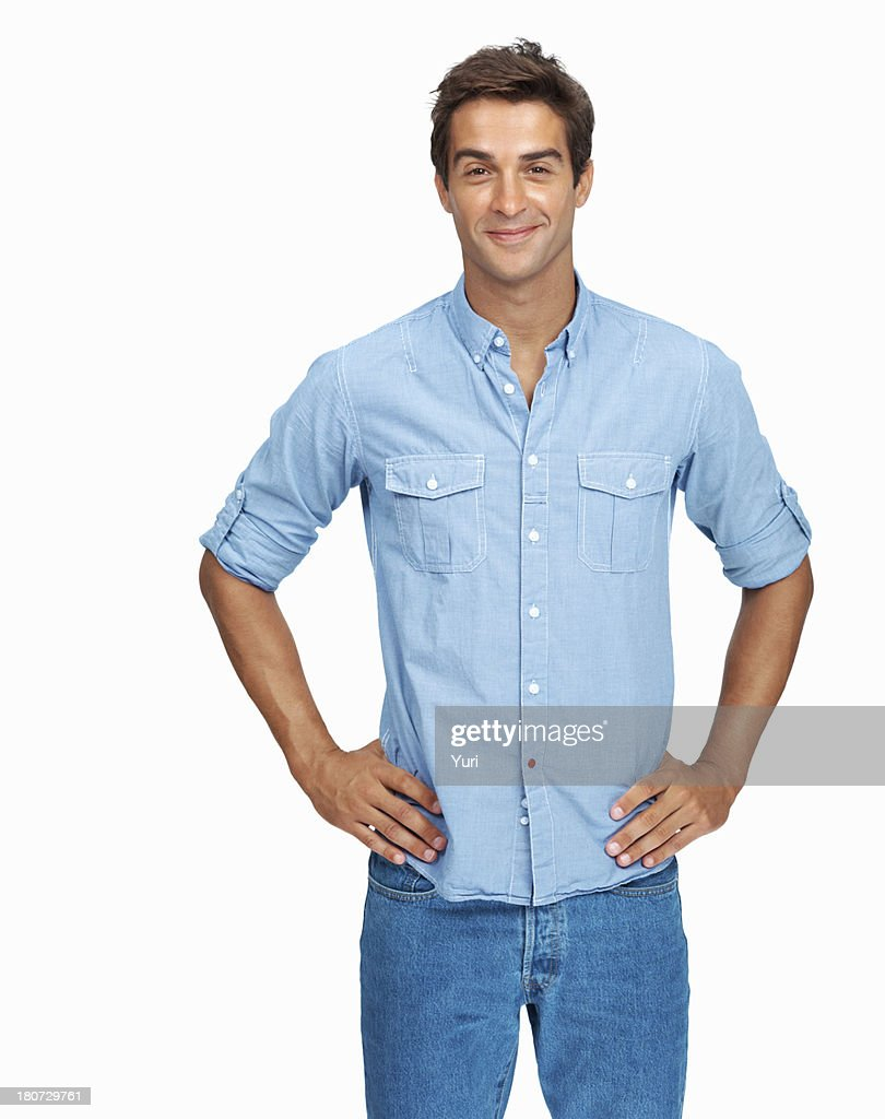 Confident young man : Stock Photo