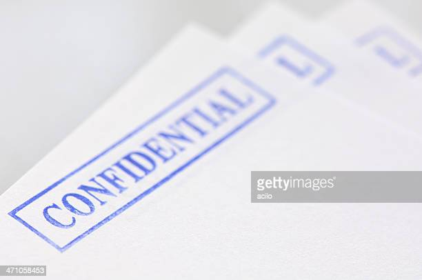 confidential documents - mission statement stock photos and pictures