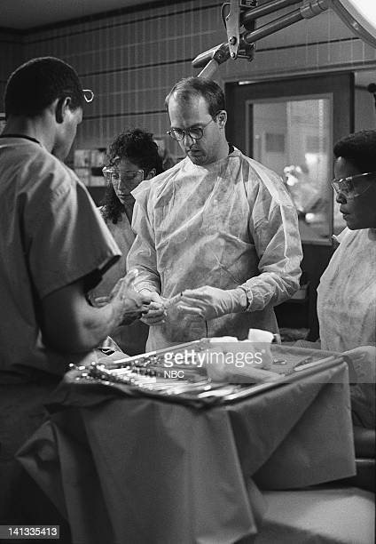 ER ER Confidential Episode 9 Air Date Pictured Eriq La Salle as Doctor Peter Benton Anthony Edwards as Doctor Mark Greene Yvette Freeman as Nurse...