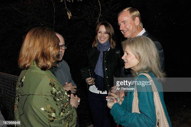 Confidential Publisher Alison Miller and guests attend Los Angeles Confidential And Merrrill Lynch Wealth Management Celebrate LAXART At The Home Of...