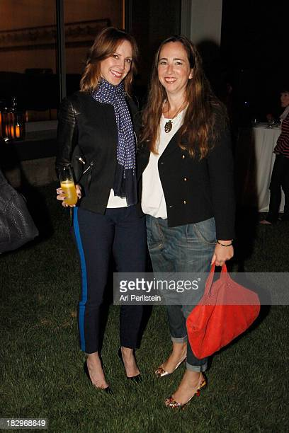 LA Confidential Publisher Alison Miller and Rebecca Bloom attend Los Angeles Confidential And Merrrill Lynch Wealth Management Celebrate LAXART At...