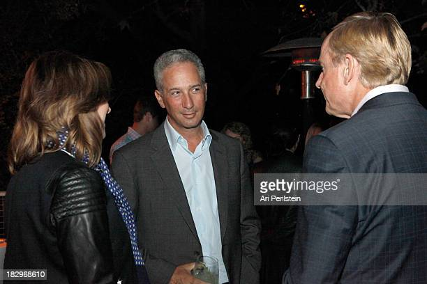 LA Confidential Publisher Alison Miller Jeffrey Soros and Stephen Maguire attend Los Angeles Confidential And Merrrill Lynch Wealth Management...