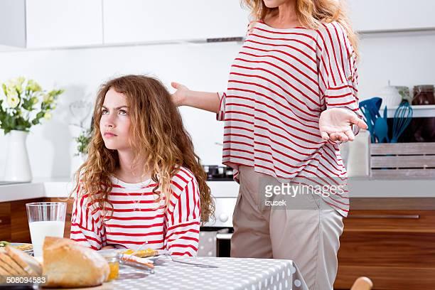 Konflikt in einer Familie