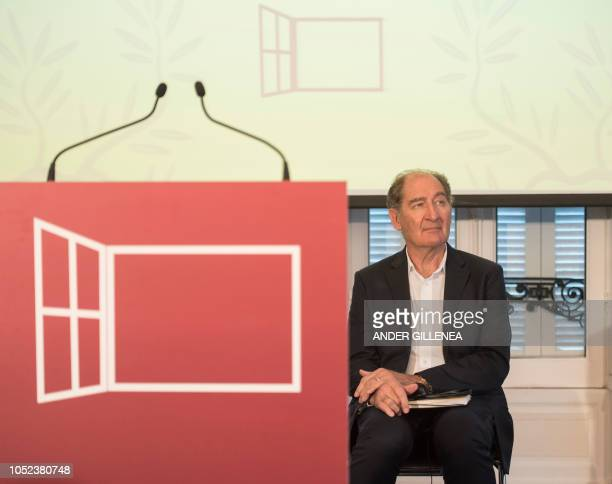 Conflict resolution expert from the International contact group GIC South African lawyer Brian Currin waits before taking part in a conference in the...