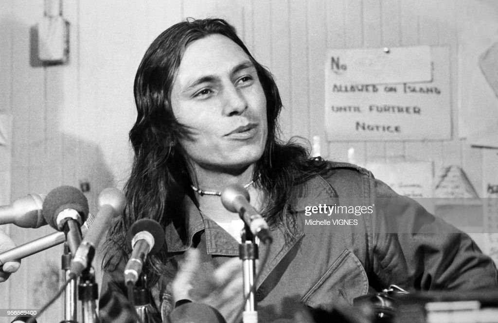 Occupation d'Alcatraz par l'?American Indian Movement? : News Photo