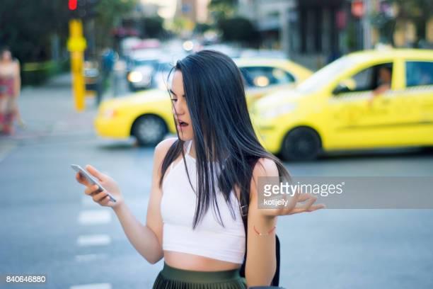 Confused teen girl