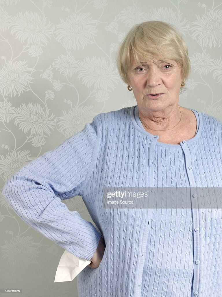 Confused woman : Stock Photo