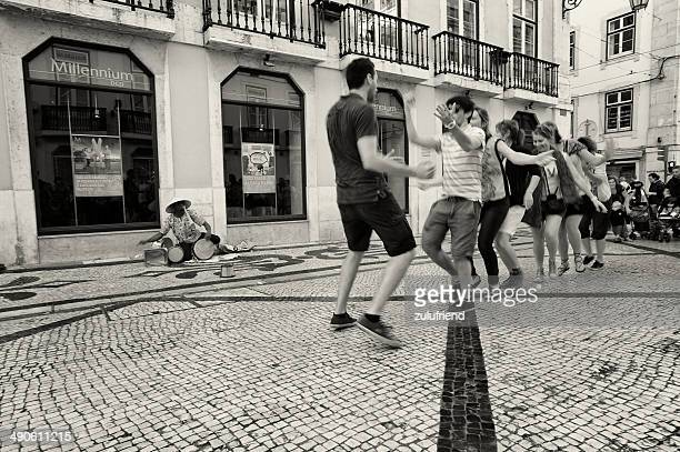 Conga Line in Lisbon