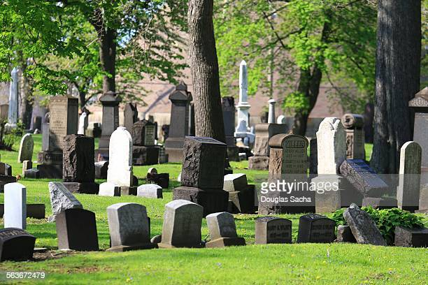 Congested cemetery