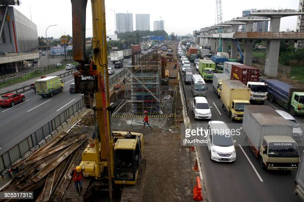 Congestion during rush hour on a number of roads in Jakarta on Wednesday February 28 2018 Based on the INRIX Global Traffic survey in 1360 cities...