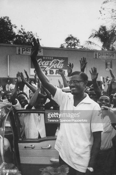 Congo Politico Patrice Lumumba of National Progressive party