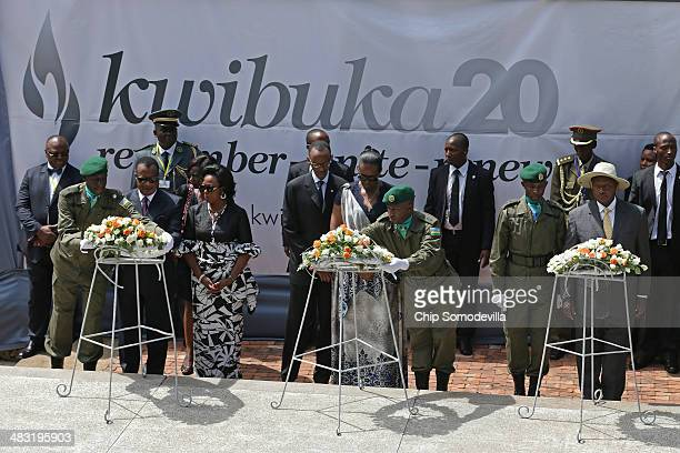 CongoBrazzaville President Denis Sassou Nguesso and first lady Antoinette SassouNguesso Rwanda President Paul Kagame and first lady Jeannette Kagame...