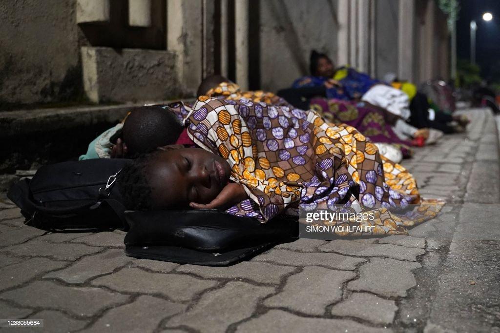 RWANDA-DRCONGO-VOLCANO : News Photo