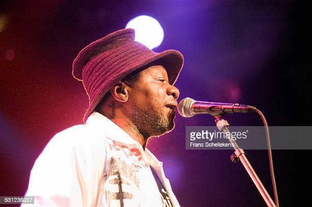 Congolese singer Papa Wemba performs at the Melkweg on September 25th 2004 in Amsterdam Netherlands