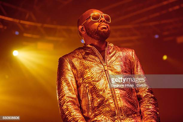 Congoleseborn French rapper and singer Gandhi Djun better known by his stage name Ma��tre Gims performs live at Fabrique on May 10 2016 in Milan Italy