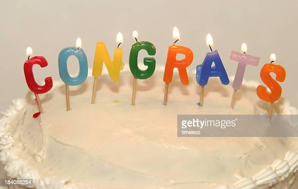 congrats candles