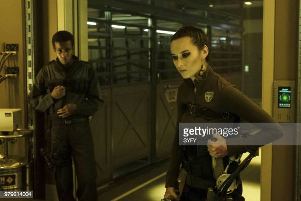 THE EXPANSE Congregation Episode 312 Pictured Cara Gee as Drummer