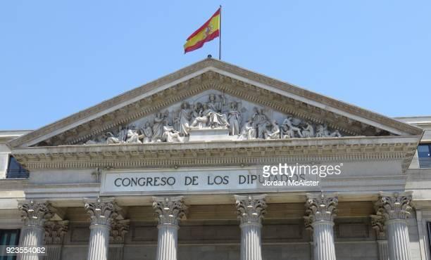 congreso de los diputados (madrid, spain) - congress of deputies stock pictures, royalty-free photos & images