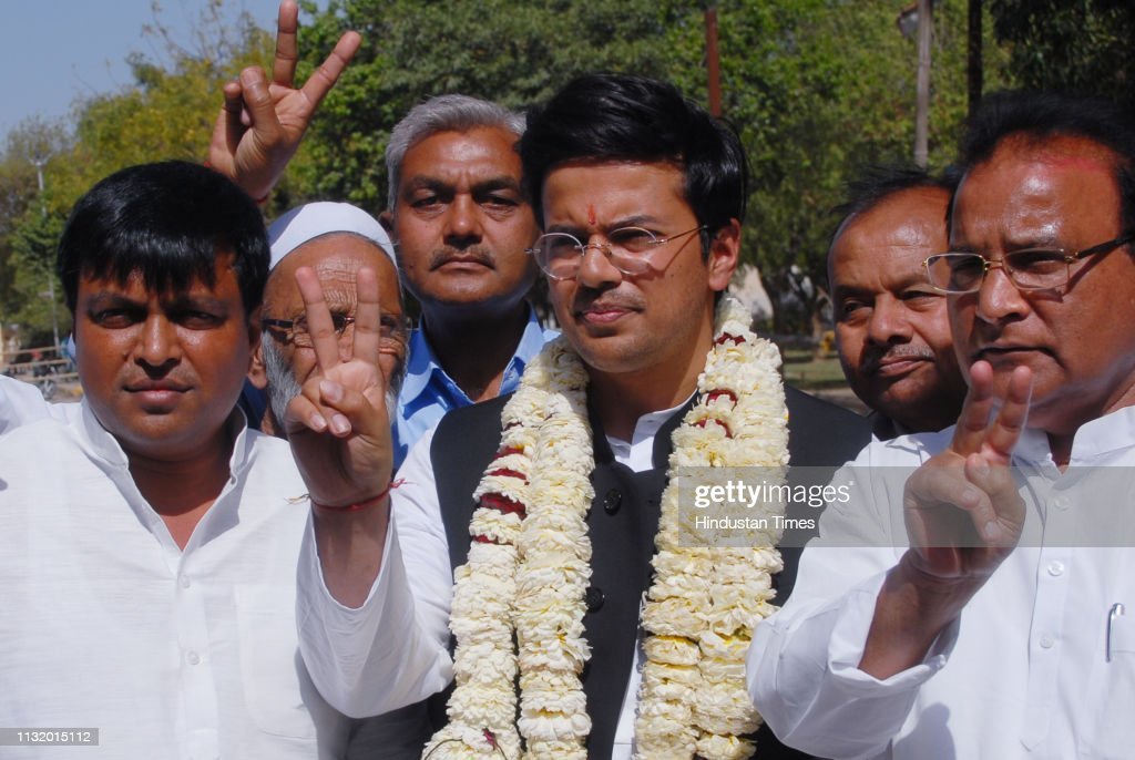 IND: Congress Candidate From Gautam Buddh Nagar Arvind Singh Chauhan Files Nomination