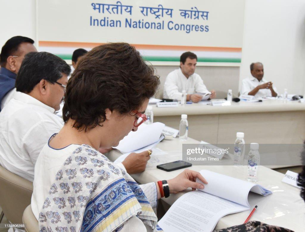 IND: Congress Working Committee Meeting