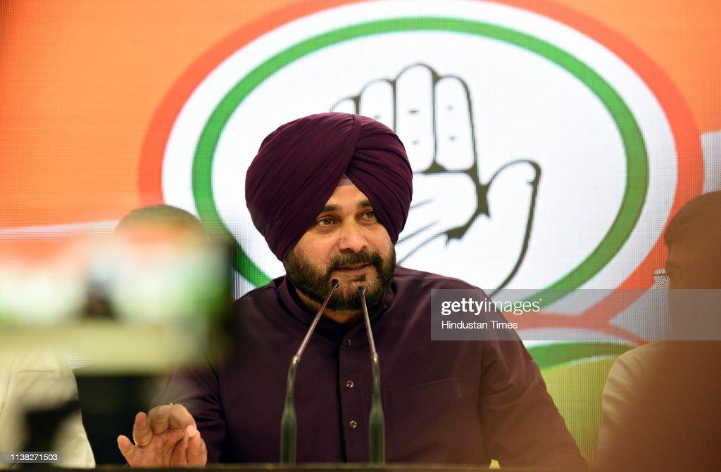 IND: Press Conference Of Punjab Cabinet Minister Navjot Singh Sidhu