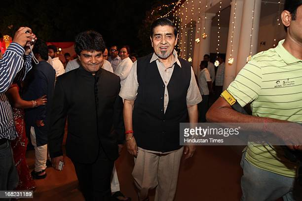 Congress leader Jagdish Tytler at the Wedding ceremony of Lawyer Ashok Basoya and ex Delhi University Student Union president Ragini Nayak on May 5...