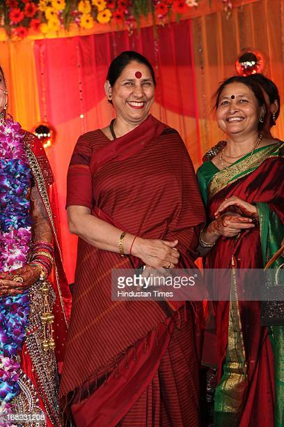 Congress leader Krishna Tirath at the Wedding ceremony of Lawyer Ashok Basoya and ex Delhi University Student Union president Ragini Nayak on May 5...
