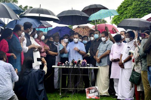 IND: Congress Leader Rahul Gandhi Address Media
