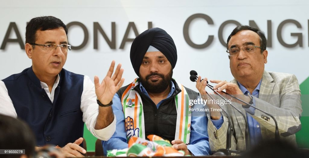 Arvinder Singh Lovely Returns To Congress, Says He Was Misfit In BJP