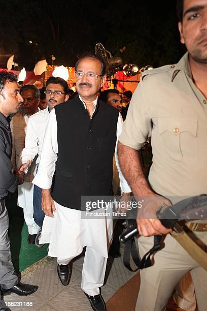 Congress leader Rashid Alvi at the Wedding ceremony of Lawyer Ashok Basoya and ex Delhi University Student Union president Ragini Nayak on May 5 2013...